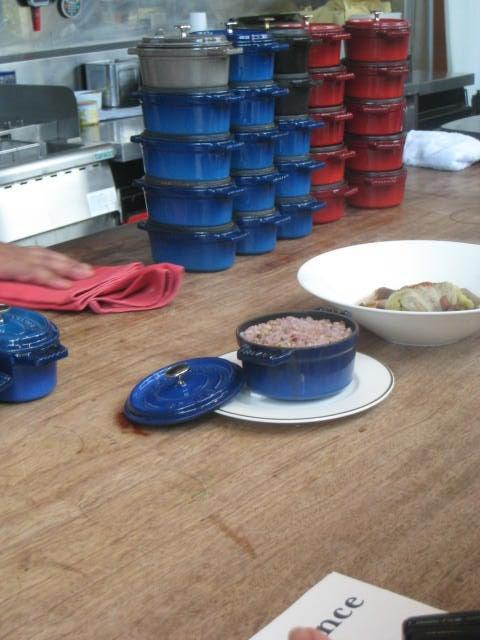 ユウゾウ日記◆美味しいものを作って教えて◆イタリアンシェフのレストラン奮闘記◆-STAUB鍋