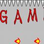 ゲームオーバー画像の…