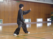 中国武術・横浜武術院のblog-演武5