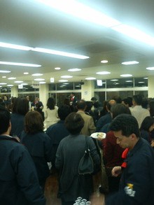 浜茶屋~東京タワーのふもとで~-スタッフ打ち上げ