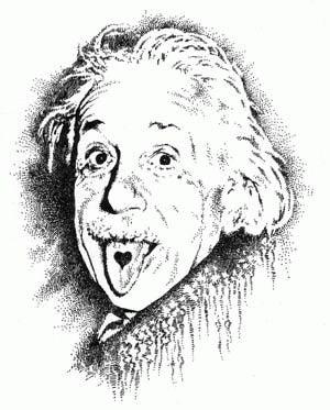 アインシュタイン イラスト