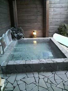 日々 更に駆け引き-露天風呂