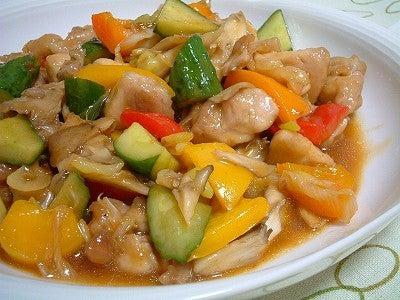 グルメ夫が認めたバリウマ料理レシピ-酢鶏