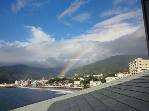 ブレッド&サーカス・ブログ-湯河原の虹
