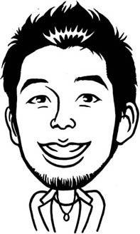 にてる似顔絵コレクション-中田