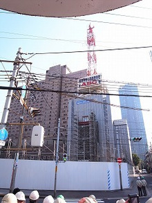 seikelab研究室日記-タワー解体調査