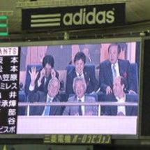 初、日本シリーズ観戦