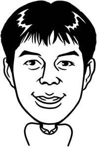 にてる似顔絵コレクション-甲田さん