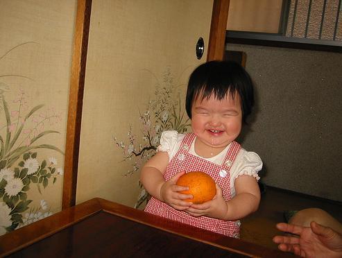 Grumpy Monkey(不機嫌なおさるさん)の観察日記-i love mikan3