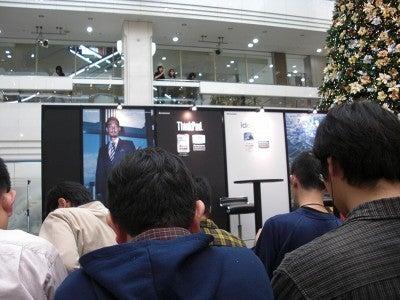 NEC特選街情報 NX-Station Blog-皆口裕子さん トークショーのステージ前