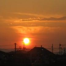 夕日~散歩~