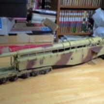 28cm列車砲K5 …