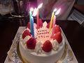 円居ママのブログ-バースデーケーキ