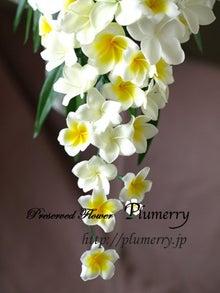 Plumerry(プルメリー)プリザーブドフラワースクール (千葉・浦安校)-プルメリア ウエディングブーケ