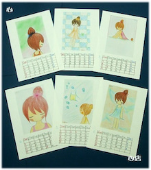 *となりのこころ*-えありカレンダー2010(*u u*)☆