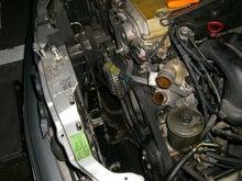 $ベンツトラブルナビゲーター | ~ベンツ修理,相談室~-W124ラジエーター交換