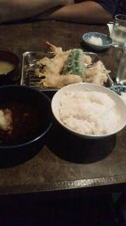 ルアマガムービースタッフブログ-天ぷら定食ねー