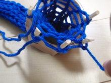 手編みのマフラーの幅や毛糸の量 ...