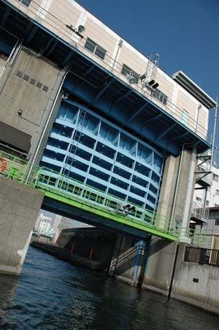 1歩・2歩・散歩♪-水門