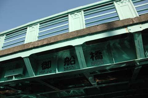 1歩・2歩・散歩♪-橋の下