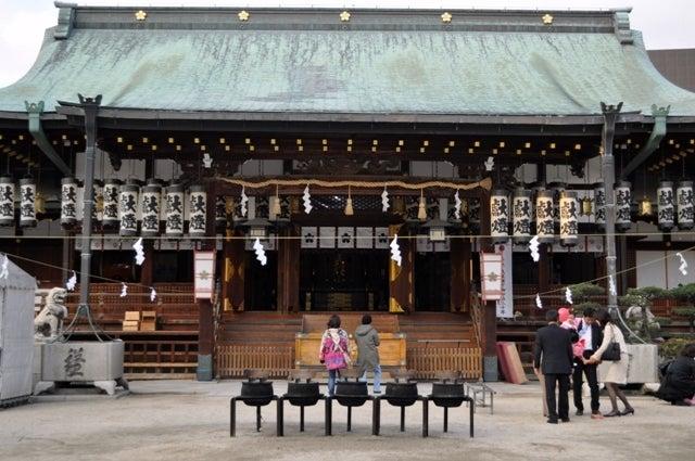 茶々吉とデジ一 のんびり旅-大阪天満宮2