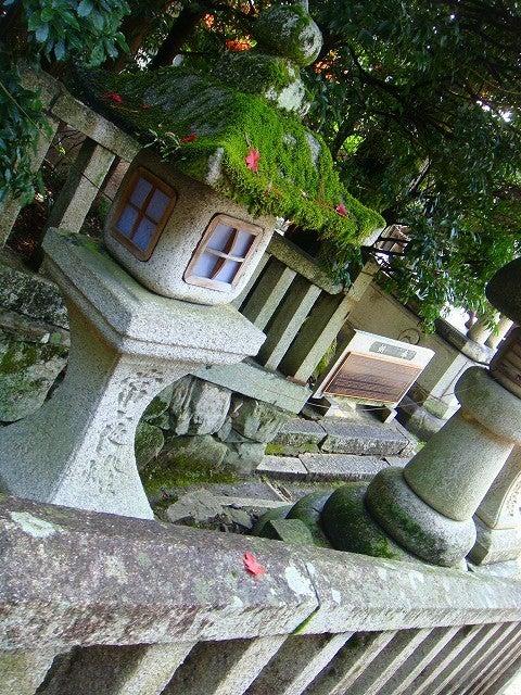 旅犬Lanileaのほほん風船記-日牟禮八幡宮