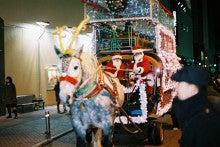 $ギョシャナベの 専務宣わく「ボク、銀太っす!」-クリスマス馬車