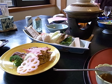 ゆきうさぎ。のグタグタ部屋-銀波荘 序章のお料理