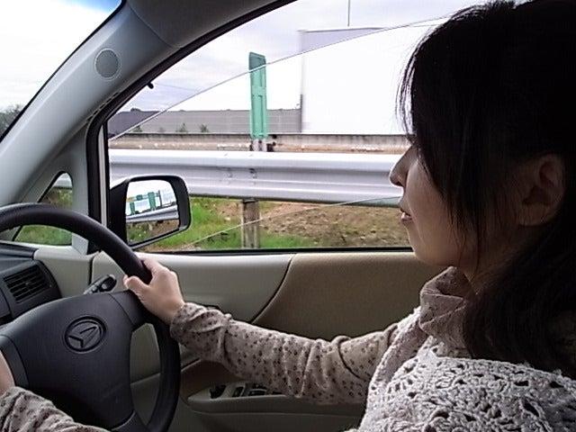 ゆきうさぎ。のグタグタ部屋-ゆきうさぎ。 運転中
