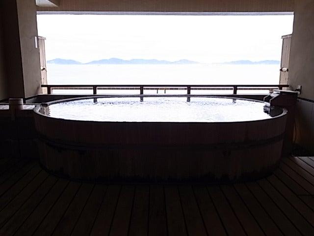 ゆきうさぎ。のグタグタ部屋-銀波荘 貸切り露天風呂 月