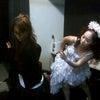 カトリーヌ練習中の画像