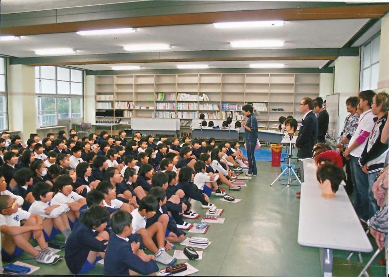 静岡県理容組合-課外授業