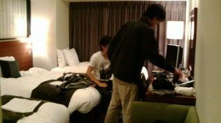 $旅ブログ-ホテル到着
