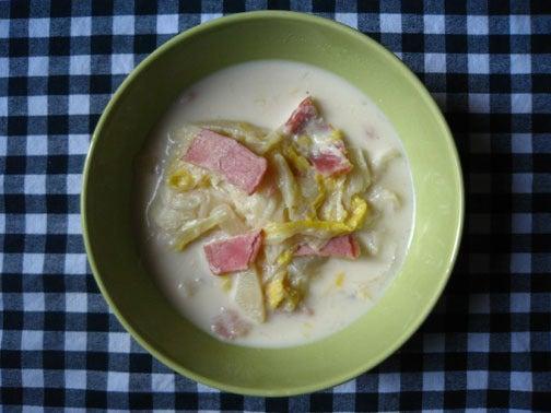 ひよこ食堂-白菜のミルクスープ02