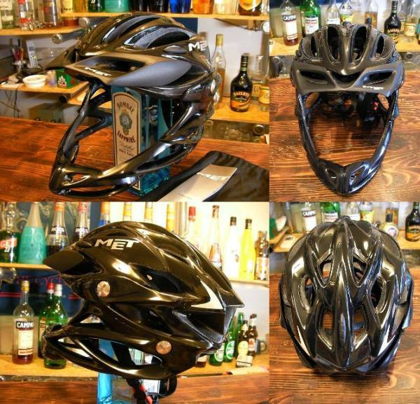 :: U :: 自転車改造計画-MET PARACHUTE FULL FACE BIKE HELMET