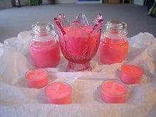 Love Candles☆Lalaのソイキャンドル手作りブログ-Red Pink