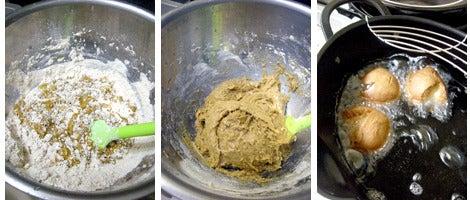 ファーム木精レシピ集-麦焦がしのドーナツ レシピ