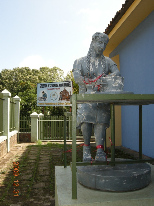 ラテンなおやじのぐうたらニカラグア生活-陶芸家像