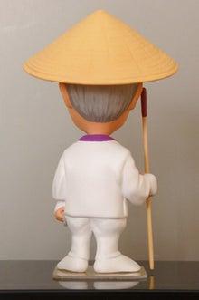 上賀茂からこんにちは。-88箇所巡り衣装 そっくり人形 男性背面