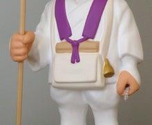 上賀茂からこんにちは。-88箇所巡り衣装 そっくり人形 手元画像