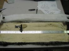 大木毛皮店工場長の毛皮修理リフォーム-フォックス衿巻作り直し