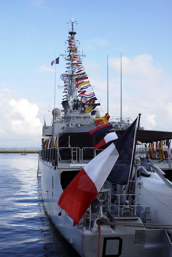 トゥールヴィル級駆逐艦 フラン...