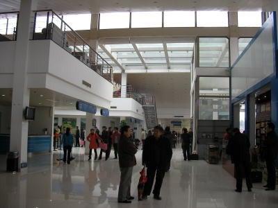 中国留学して起業しちゃったオヤジのブログ-「中国留学情報」 小さな空港02