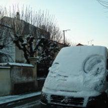 大雪の欧州