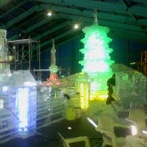 白樺湖氷燈祭 とって…