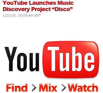 ∞最前線 通信-YouTube Disco