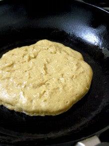 ファーム木精レシピ集-はったい粉ときな粉の和風パンケーキ