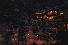 yumikoの絵空事-雪見ろうそく2