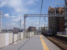 続 東京百景(BETA version)-#096 COOL BIZトレインが行く(@都立大学)