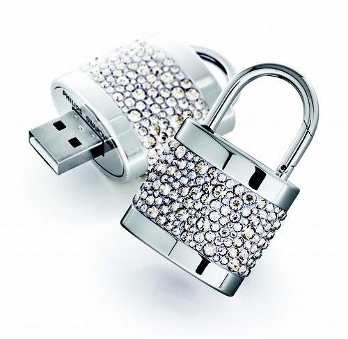 $cheltenhamのブログ-南京錠USBメモリー
